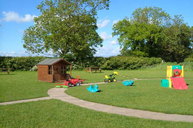 playground with wendy house